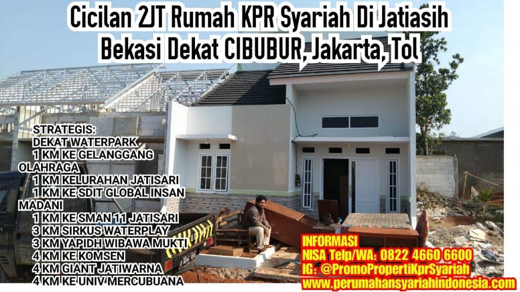 Dijual Rumah KPR TANPA RIBA Di Jatiasih Cicilan 2JT Dekat ...
